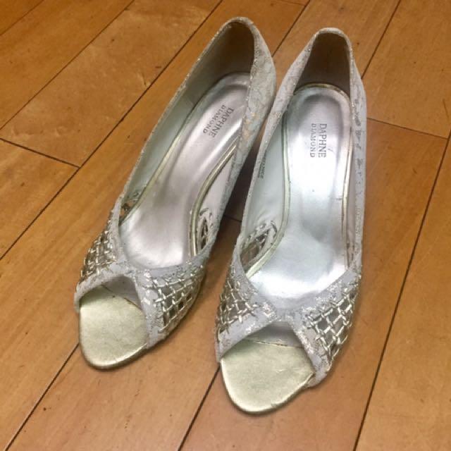 Daphne 魚口高跟鞋 size:37