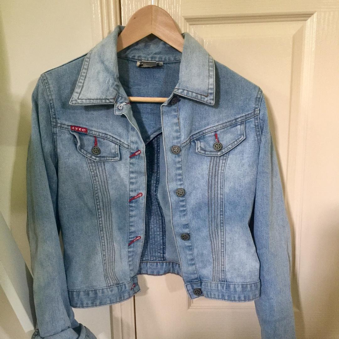denim jacket size small