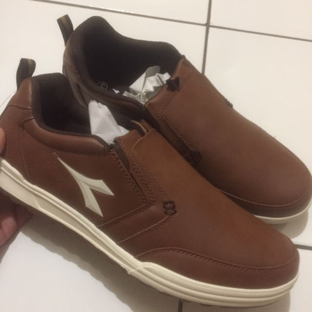 Diadora Leather Shoe New And Authentic