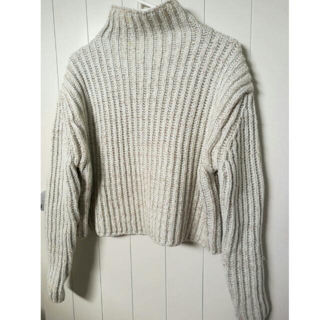 Dotti Crop Top Knit Sweater