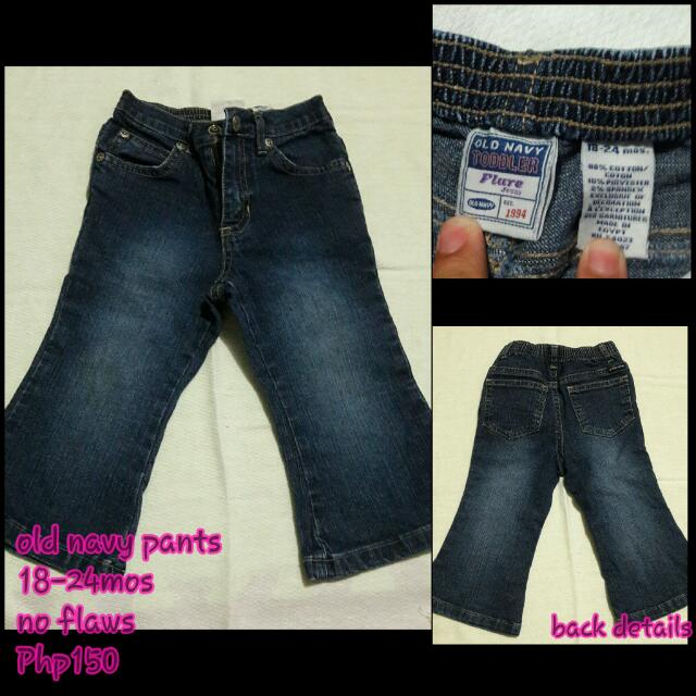 euc old navy pants