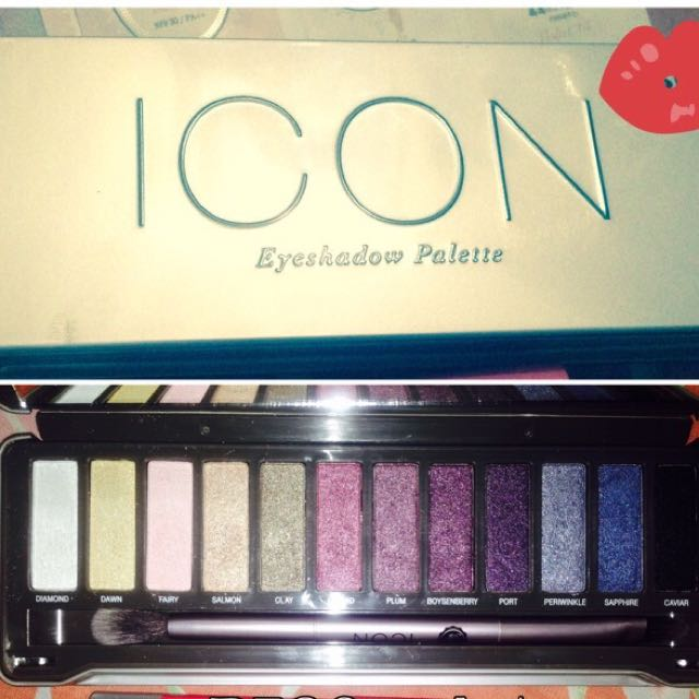 EYESHADOW PALETE 12 Shades