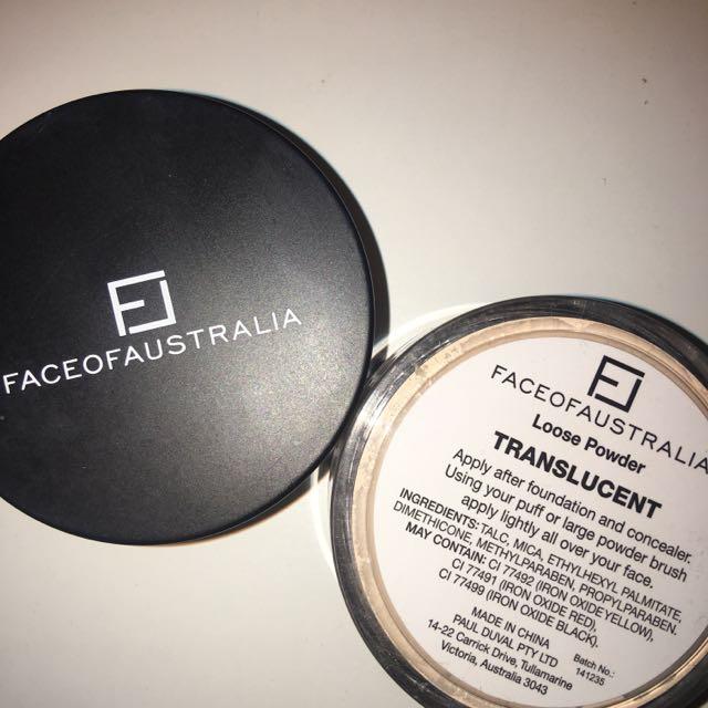 Face Of Australia Translucent Powder
