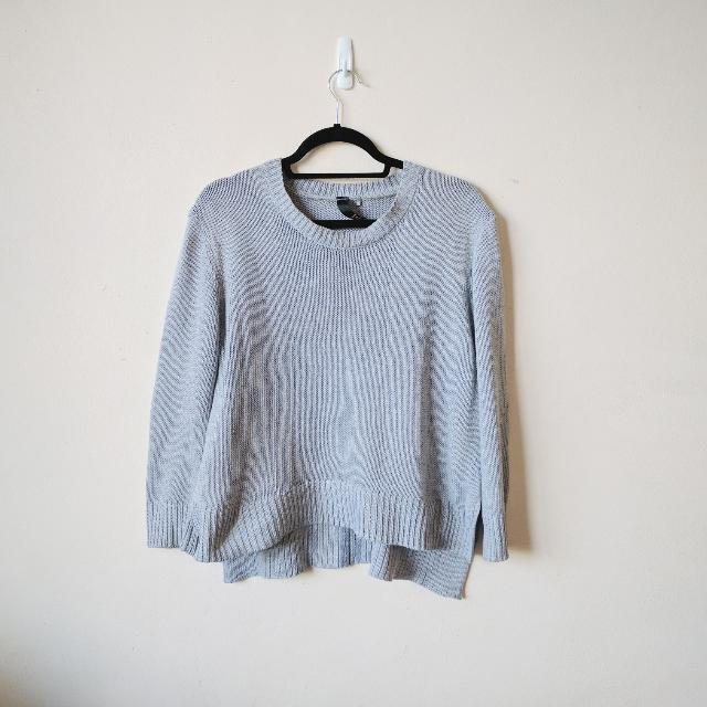 Factorie Grey Knit Jumper M