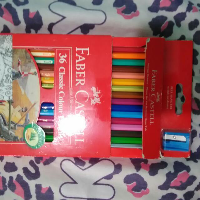 Fiber Castell 36 Colour Pencils