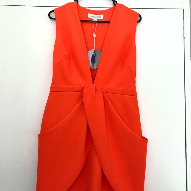 Finders Keepers DeepV Dress