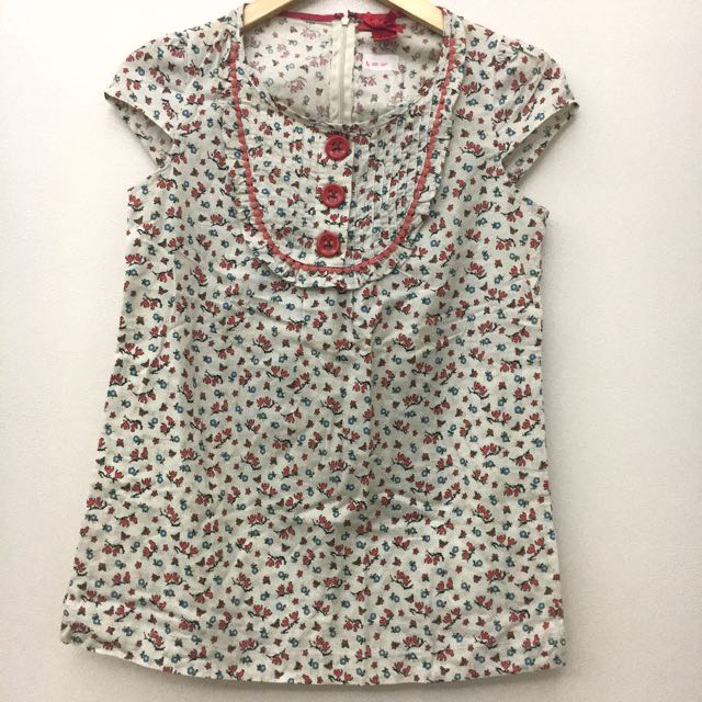 DISKON 50% Flowery Dress Forever 21