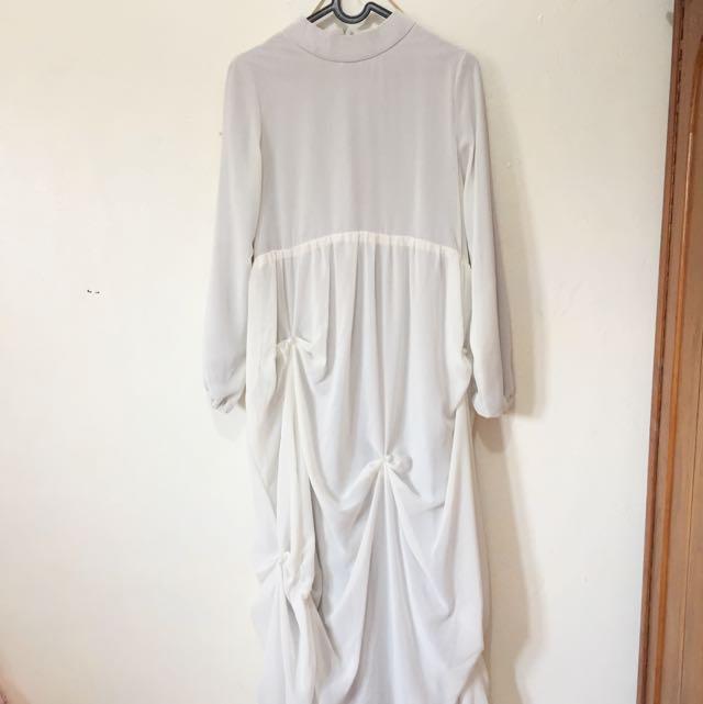 FREE ONGKIR White Dress
