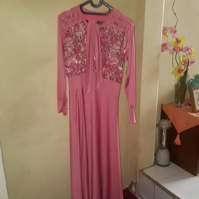 Gamis Pink Good Condition
