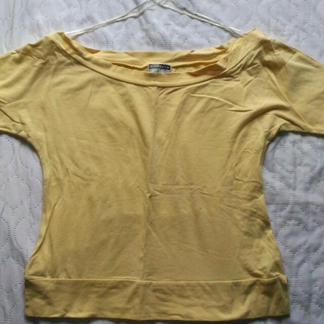 Giordano Off Shoulder Blouse