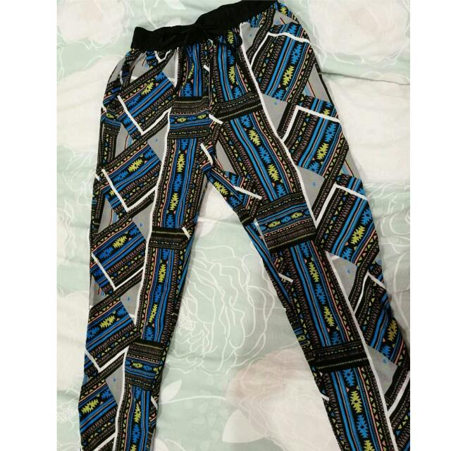 Glassons Silk Printed Trousers