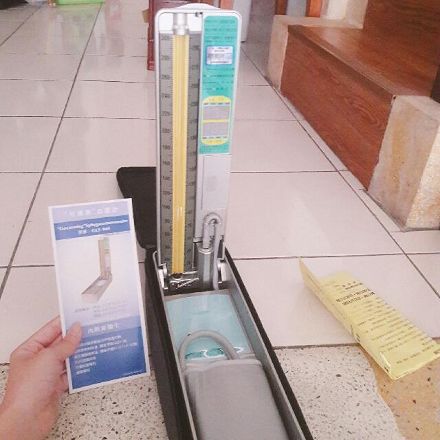 水銀可康寧血壓計型號GLS-909