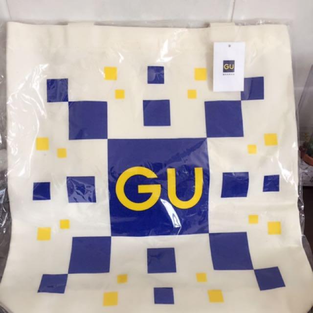 GU BIGCITY開幕限定帆布包