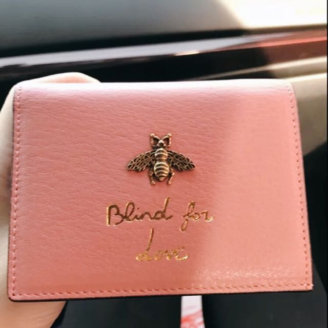ca0ae56839d Gucci inspired - Blind For Love Wallet