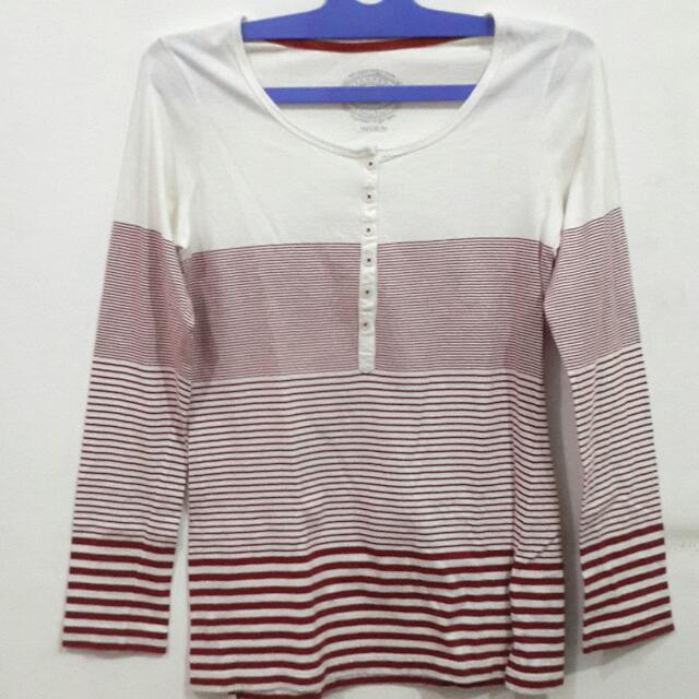 Hammer Striped Long T-Shirt