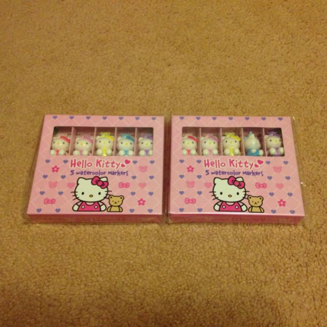 Hello Kitty 5 Watercolour Markers