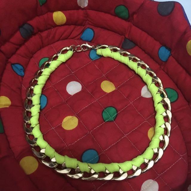H&M Chain Wrap Necklace