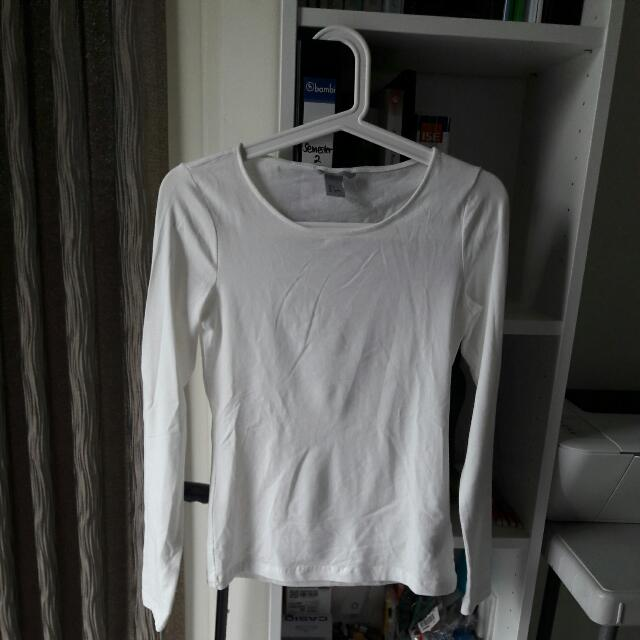 H&M Divided Basic Long Sleeve (Size S)