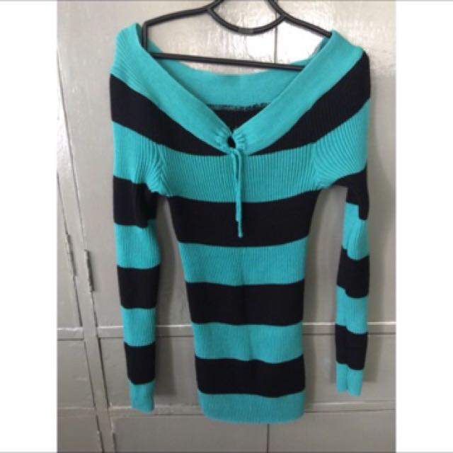 Knitted pull-over