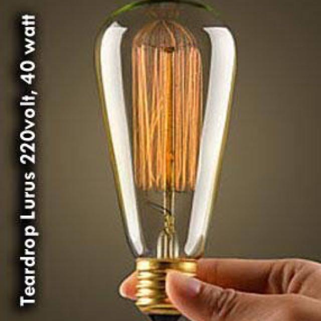 Lampu Edison 40w