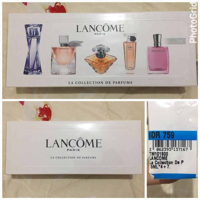 Lancome Mini Travel Set Perfume