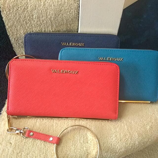 Leather Purse/wallet /wristlet