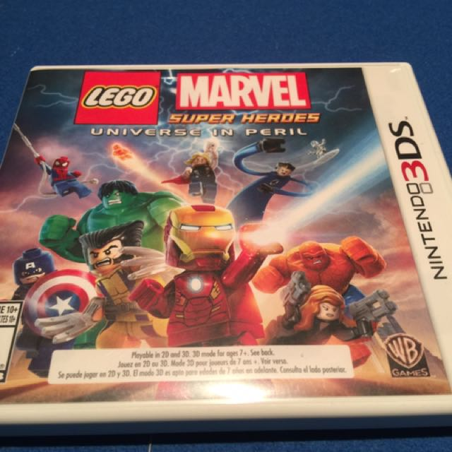 Lego Marvel Super Heroes-Universe In Peril