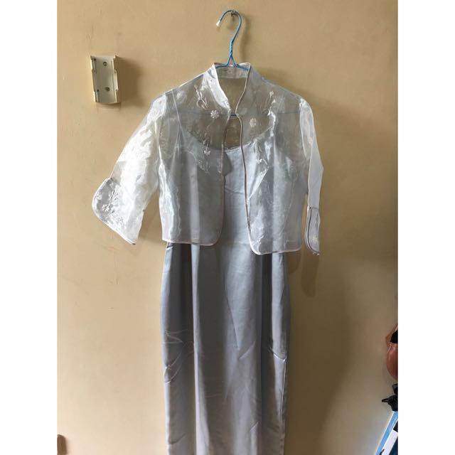 Long dress Grey