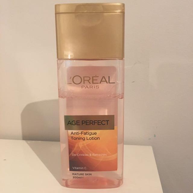 L'Oréal Toning Lotion