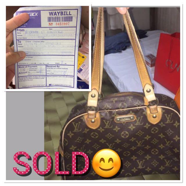 Louis Vuitton Bag Already Sold😊👍😇