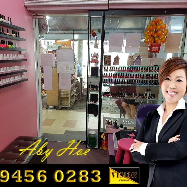 Manicure & Pedicure business shop space for Takeover * Yishun Ring Road *