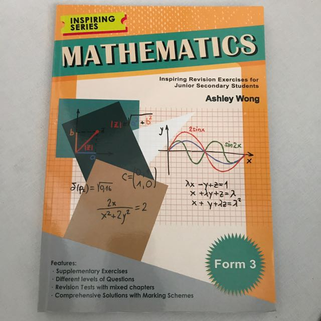 Maths exercise for Form3
