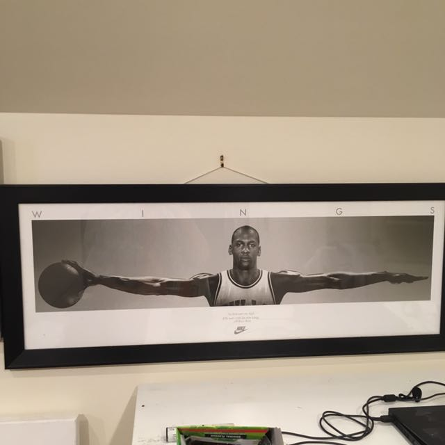 Michael Jordan - Wings Print