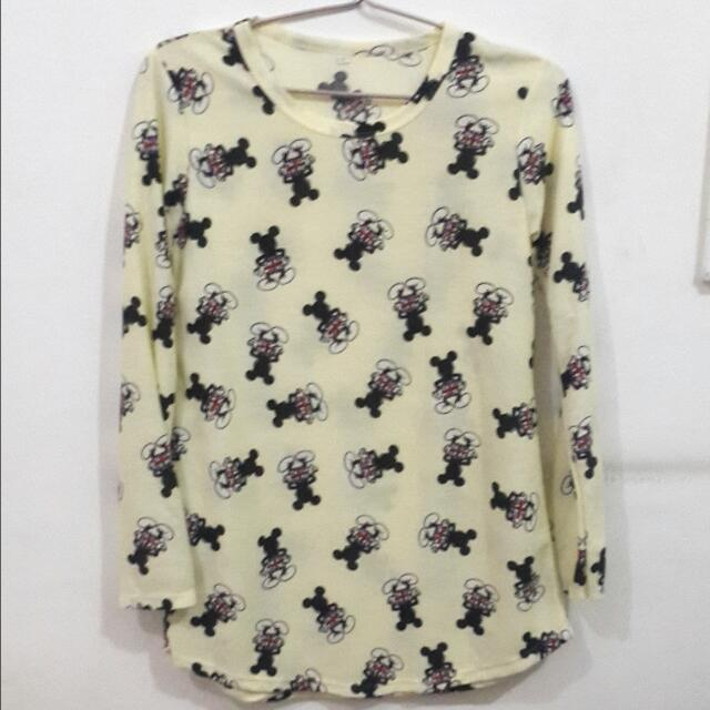 Mickey Mouse Long T-Shirt