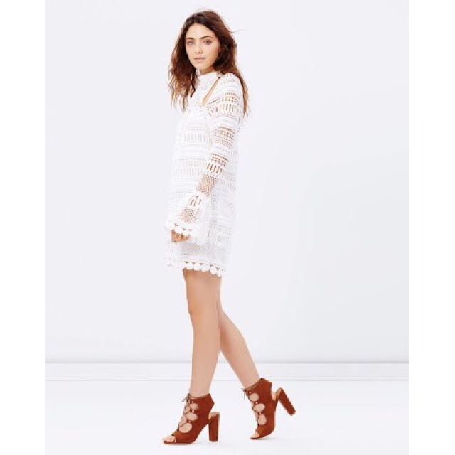 Ministry Of Style - Lace Wild Fox Dress SIZE 10