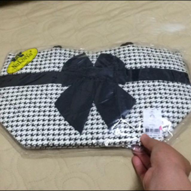 Naraya 千鳥紋 中型手提包 bath