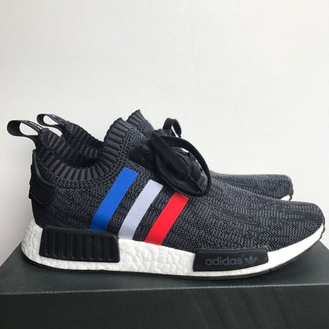 NMD PK Tri-colour Black US9 (Used)
