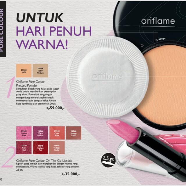ORIFLAME powder And Lipstik