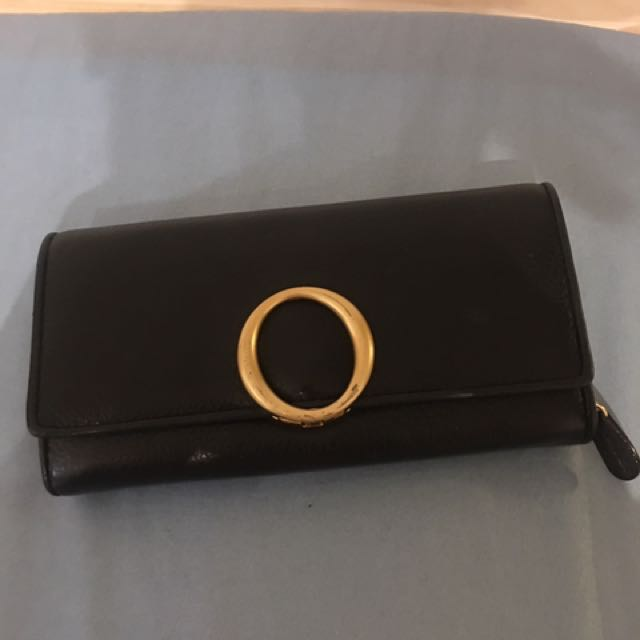 Oroton Black Wallet
