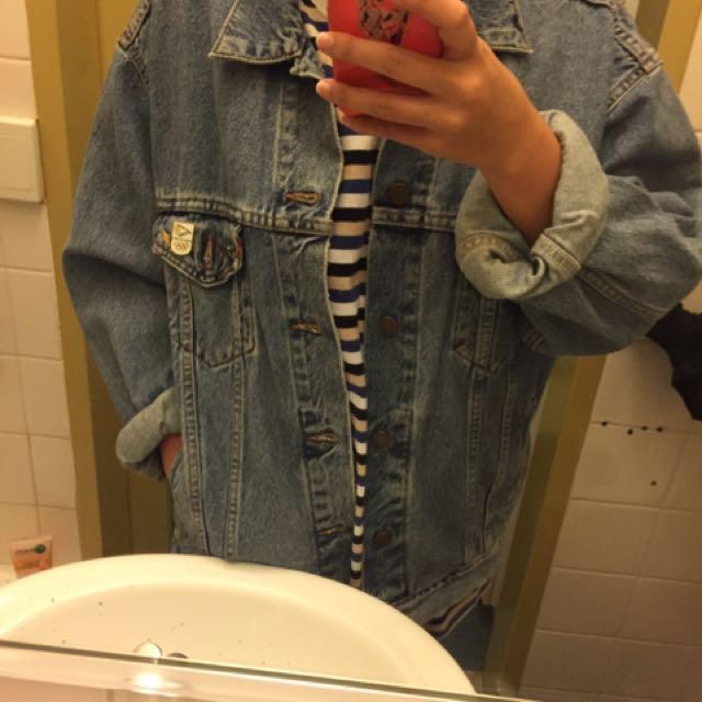 Oversized Vintage Levi Denim Jacket