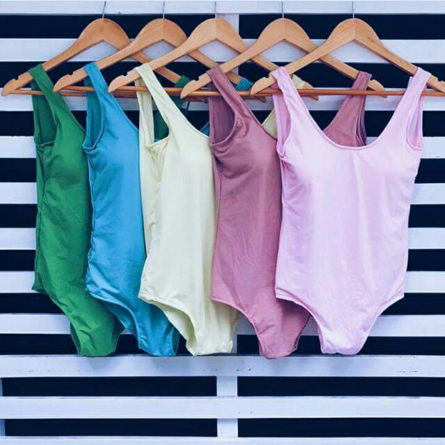 Pastel Colored Swimsuits