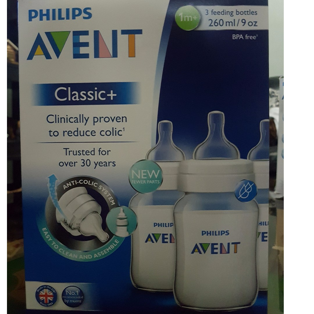 Philips Avent 9oz Classic Baby bottles for sale straight from UK. 100% BPA  free and cheaper than mall prices. a59d9f198425