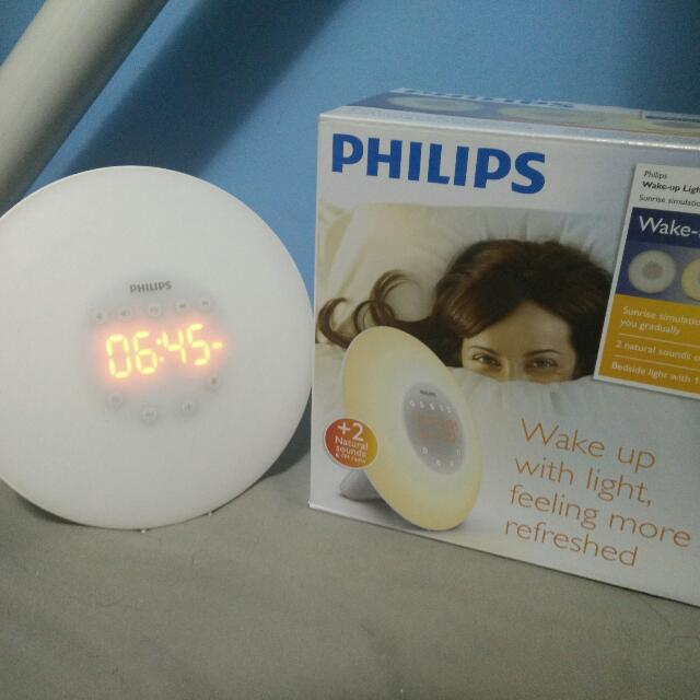 Philips Wake Up Light Sunrise Simulation Alarm Clock