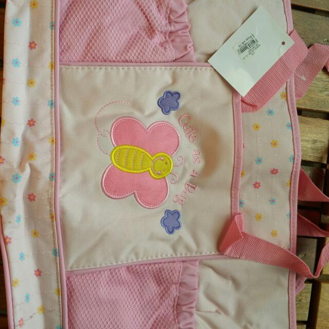 Pink Bottle Bag