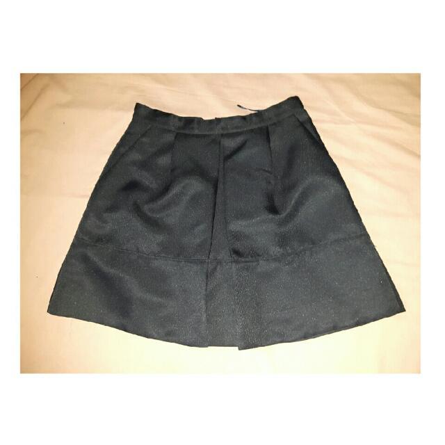 Plains And Prints Black Skirt