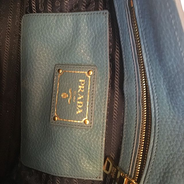 Prada Bag Vit Diano In Marine Color