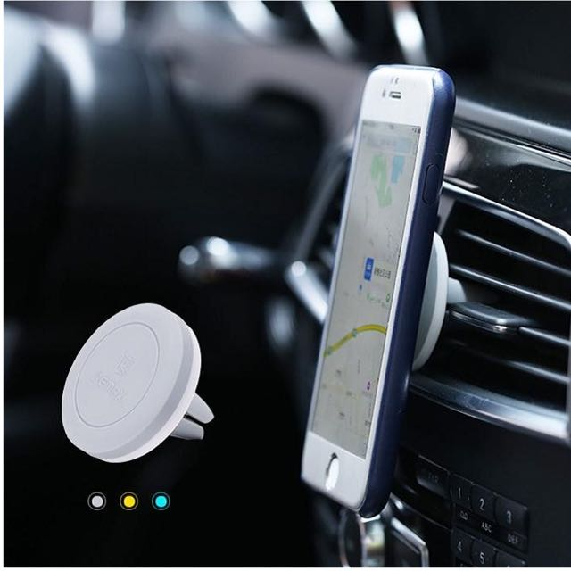 (Out Of Stock)Remax RM-C10 Magnetic Air Vent Car Phone Holder, Car Accessories on Carousell