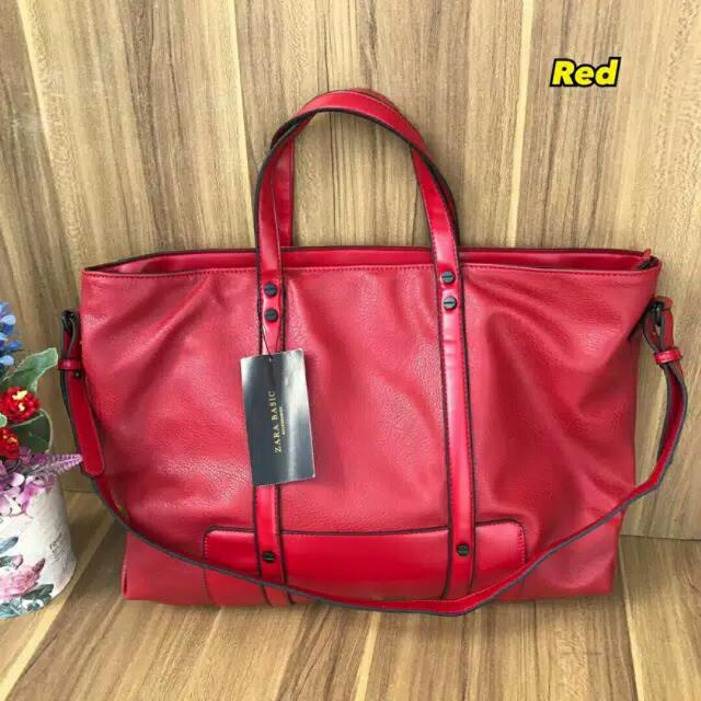 FOREVER 21 RESTOCK LIMITED ZARA BASIC ORI ORIGINAL RED SALE TERMURAH