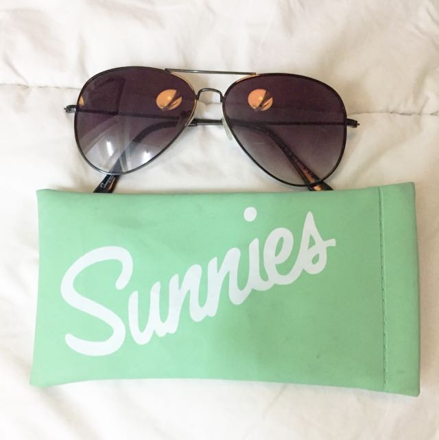 SUNNIES Black Sunglasses (Original)