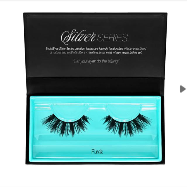 Socialeyes lashes - Silver Series